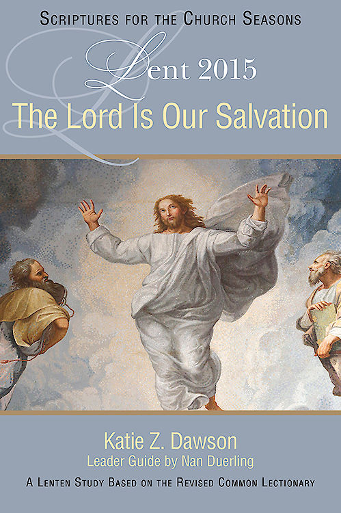 The Lord is our Salvation  A Lenten Study following the RCL Year B readings.  This book looks at salvation from a variety of lenses and opens our understanding of the work of Christ.
