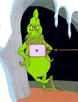 Christmas, The Grinch, and a Heart
